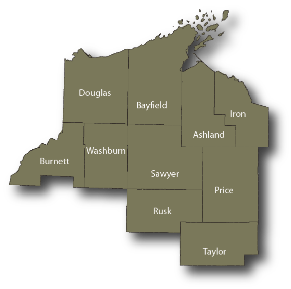 Northwest Region Map Links