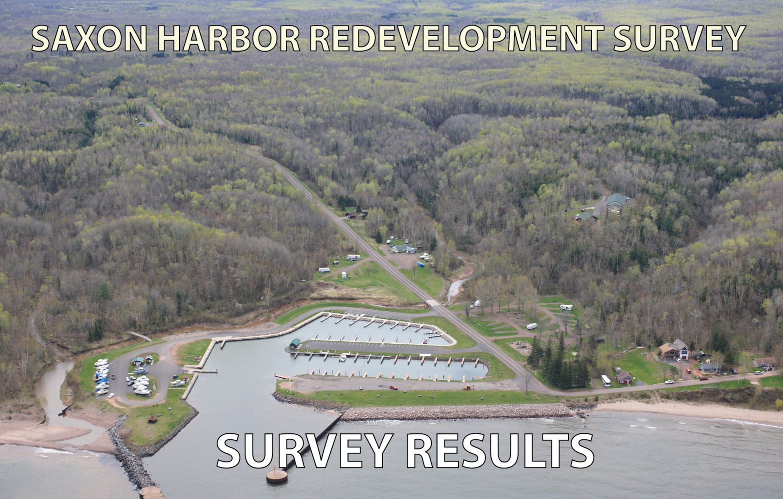 Link to Saxon Harbor Redevelopment Survey (PDF) Opens in new window