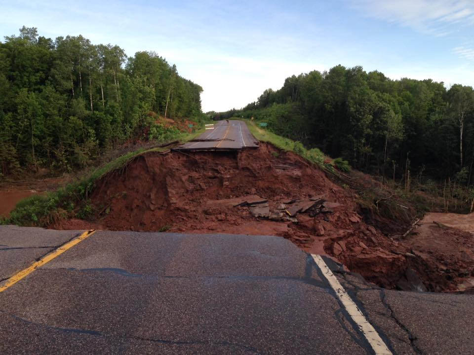 Another look at Hwy 13 near Highbridge, WI